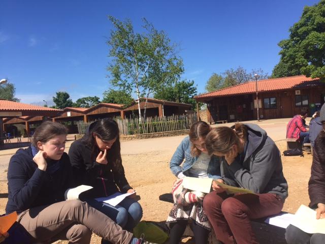 Study group at Taize Community.