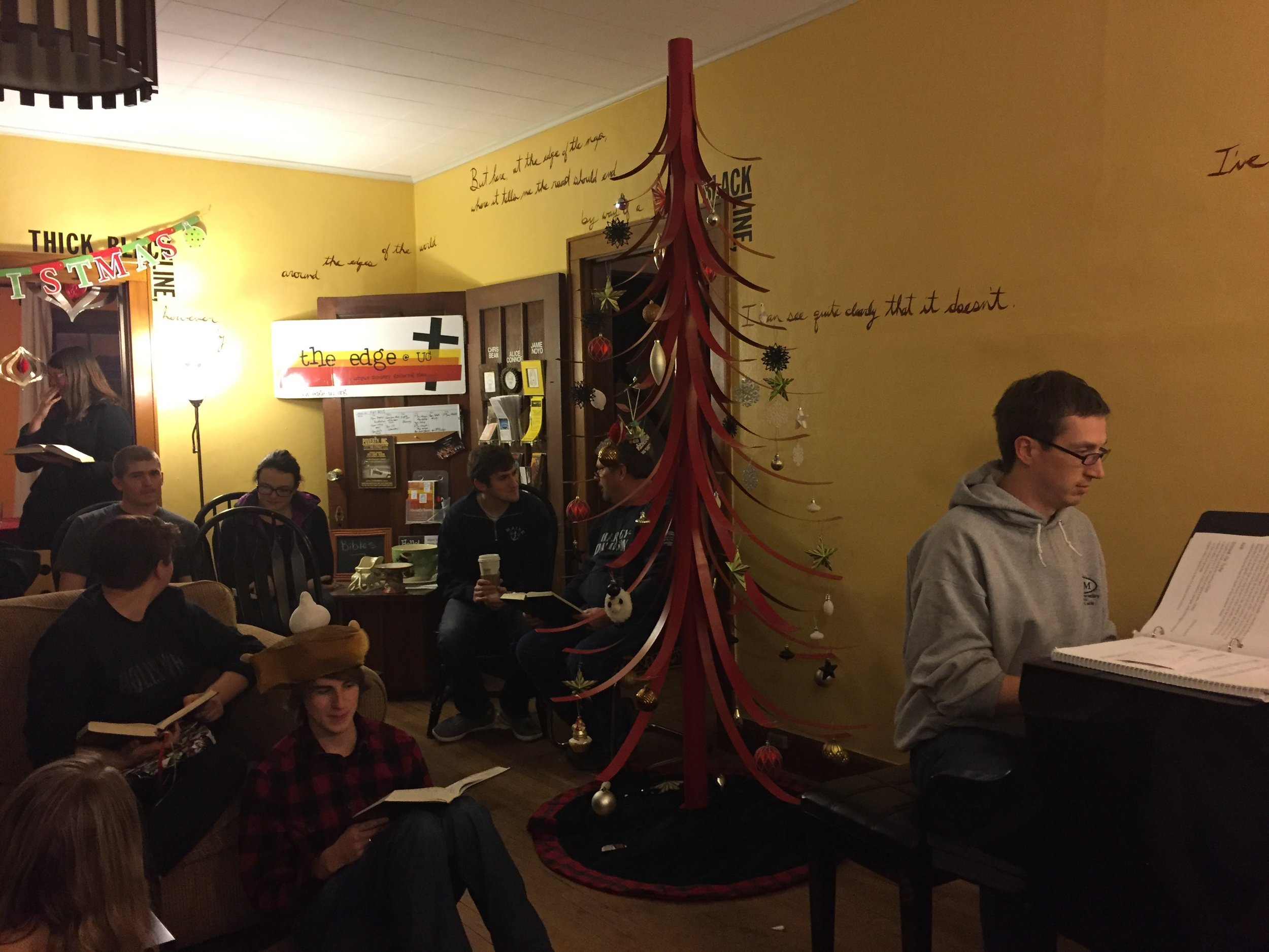 Edge House Christmas!