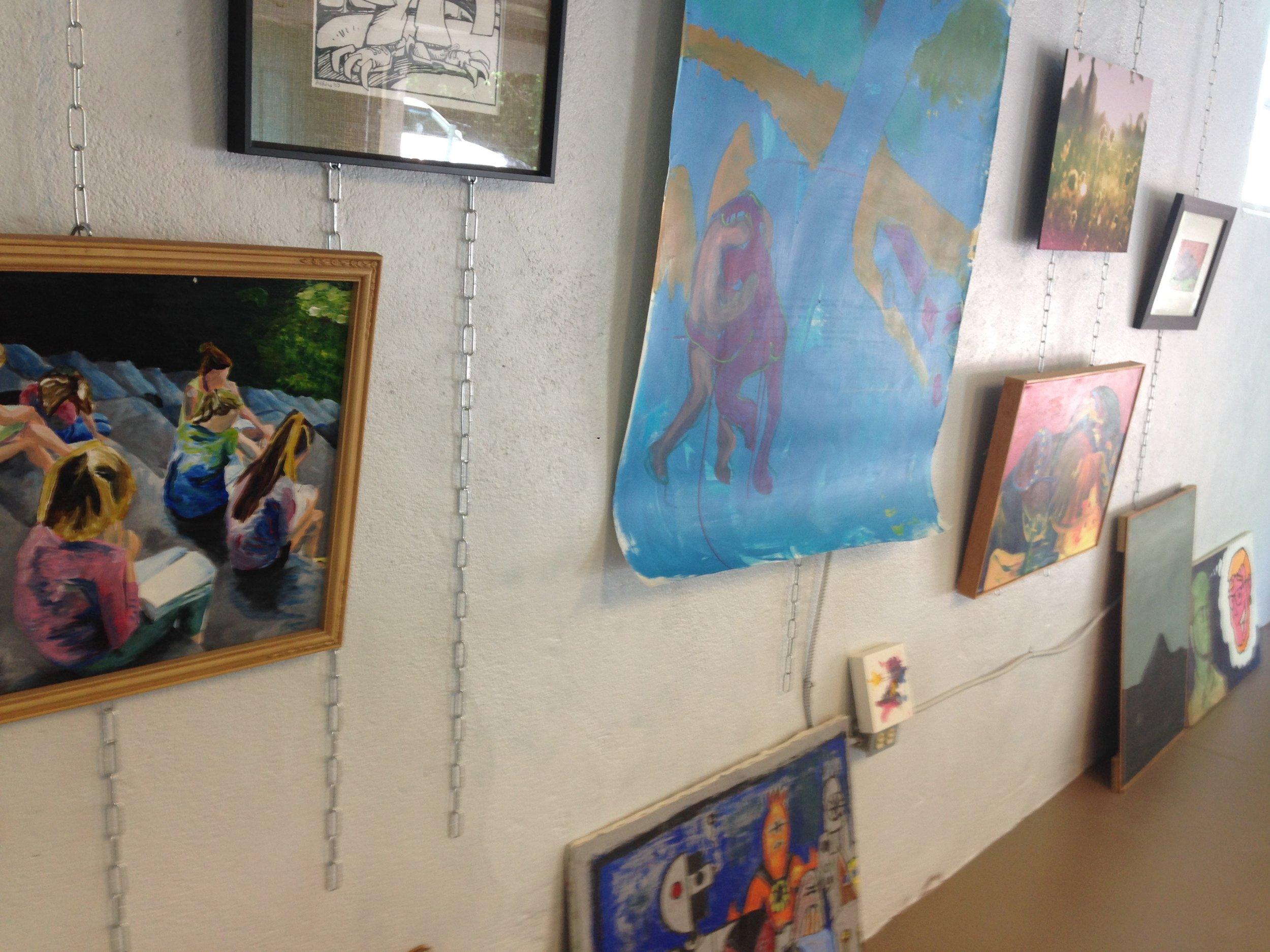 art in the art garage