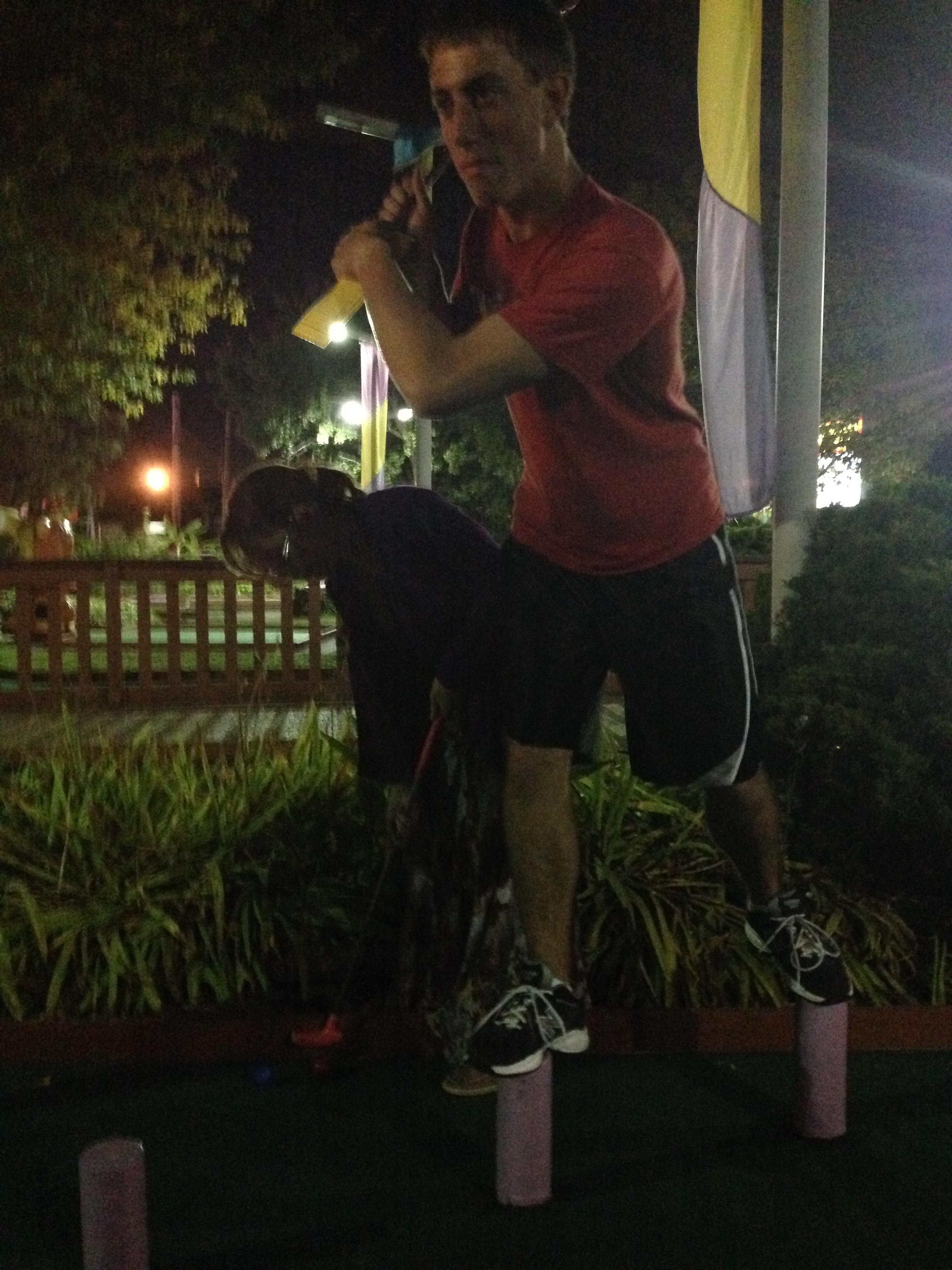 Gavin at Mini-Golf Extravaganza
