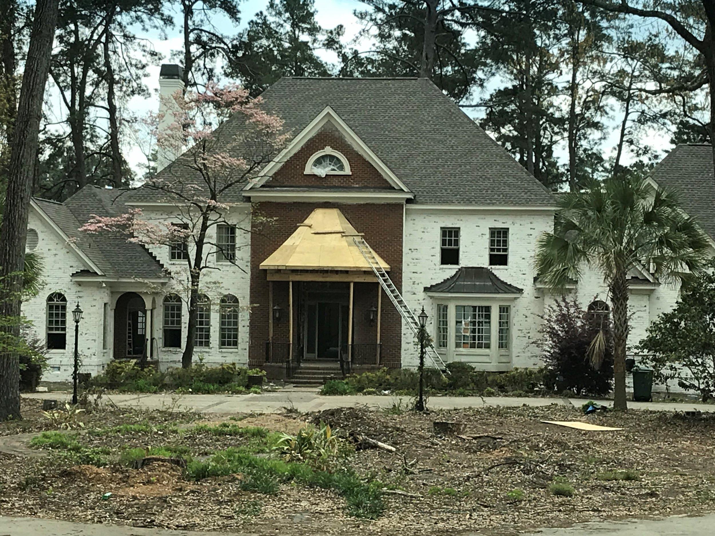 Country Club Exterior Progress