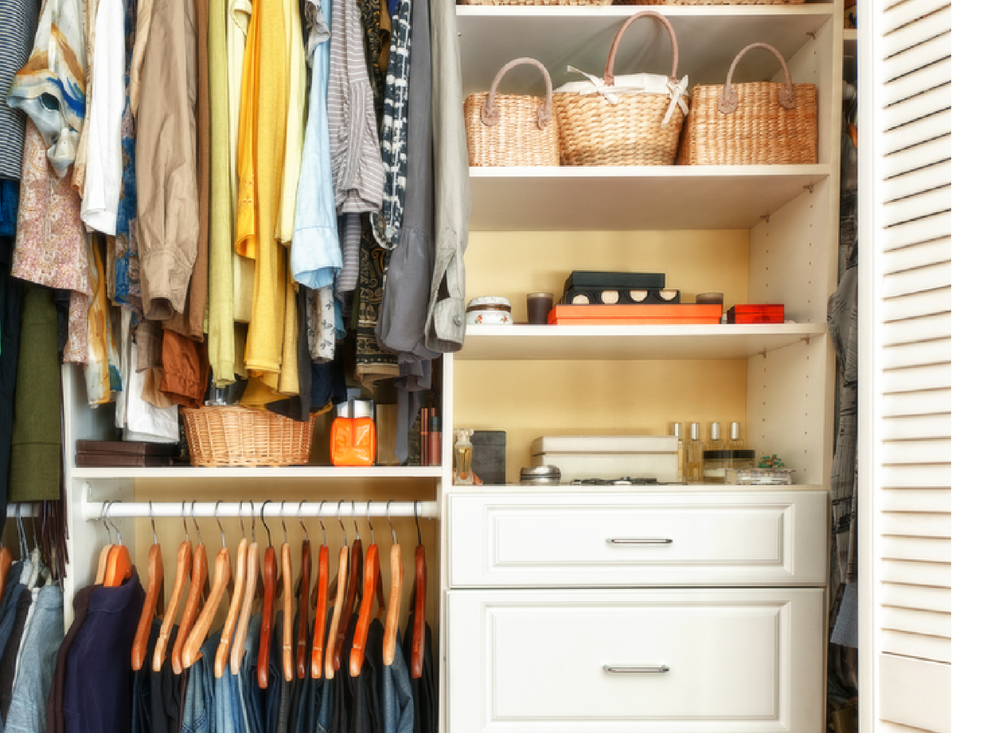 Closet - It's time to take control of your closet. Your space can go from overstuffed to simple and streamlined, where you can find and see everything you need. Together we can sort and purge; maximize the space available; and put a process in place for seasonal wear.