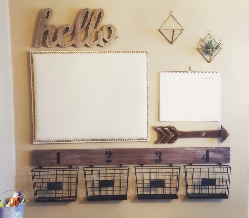 """Command Center - Scraps of paper everywhere? Not sure where your bills are? What about your kid's papers to return to school? Organize your papers and busy family schedule with a command center. Together, we can address your """"must-haves"""" and create a simplified system that will streamline your day and put your mind at ease."""