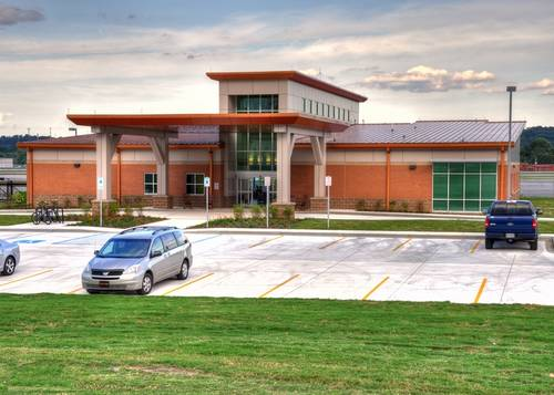 The 9,000 square foot corporate flight center is located at 932 Jubilee Drive, on the West Side Aviation Campus. Photo by Michel Lebel.