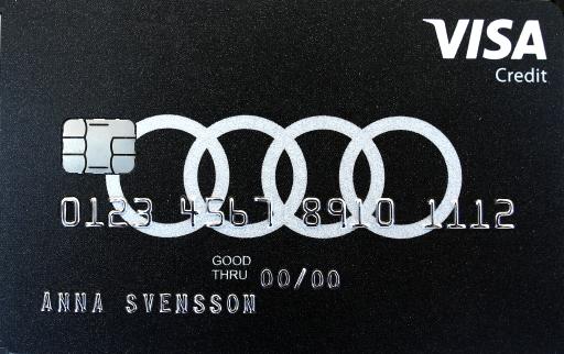 Visa Audikortet
