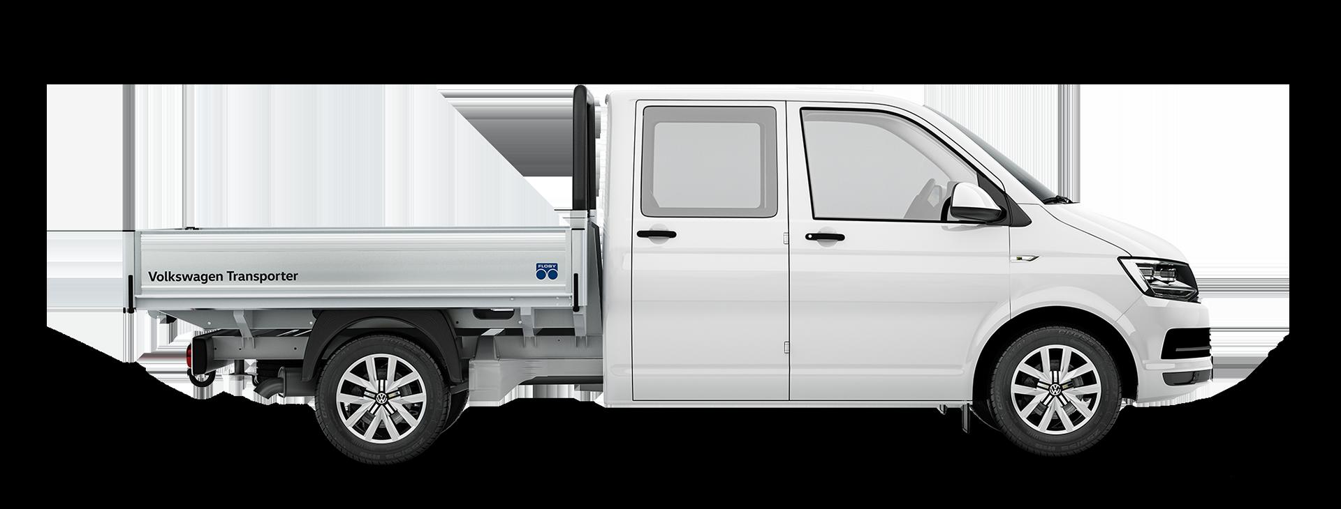 Transporter Pickup - Från 245 000 krTransporter har rullat på svenska vägar sedan början av 50-talet. Den har tillverkats i fler än 12 miljoner exemplar och löpande utvecklats längs vägen. Dagens Transporter har samma grundidé, men allt annat är nytt. Den är rymligare, bekvämare, starkare, snålare och har fantastiska vägegenskaper. Transporter Skåp är den populäraste versionen och du kan få den både förlängd och förhöjd.