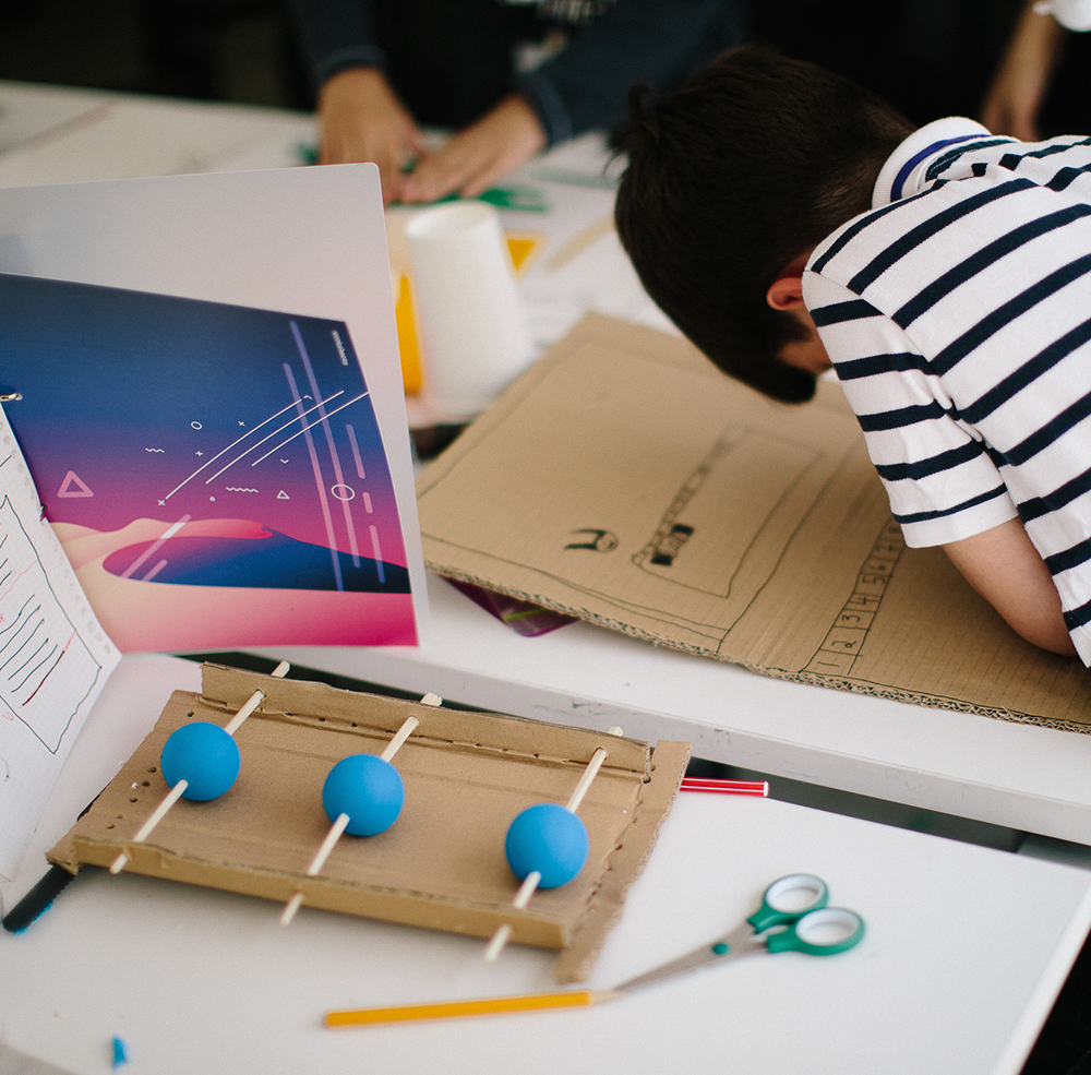 Salah, age 10,  created a school that helps children with learning disabilities achieve their academic potential. He designed a set of smart toys that would motivate young children to challenge themselves.