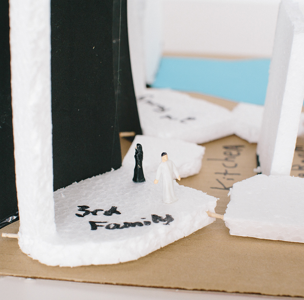 Moaz, age 13,  designed a, affordable 3D-printed housing community meant to encourage a culture of sharing.