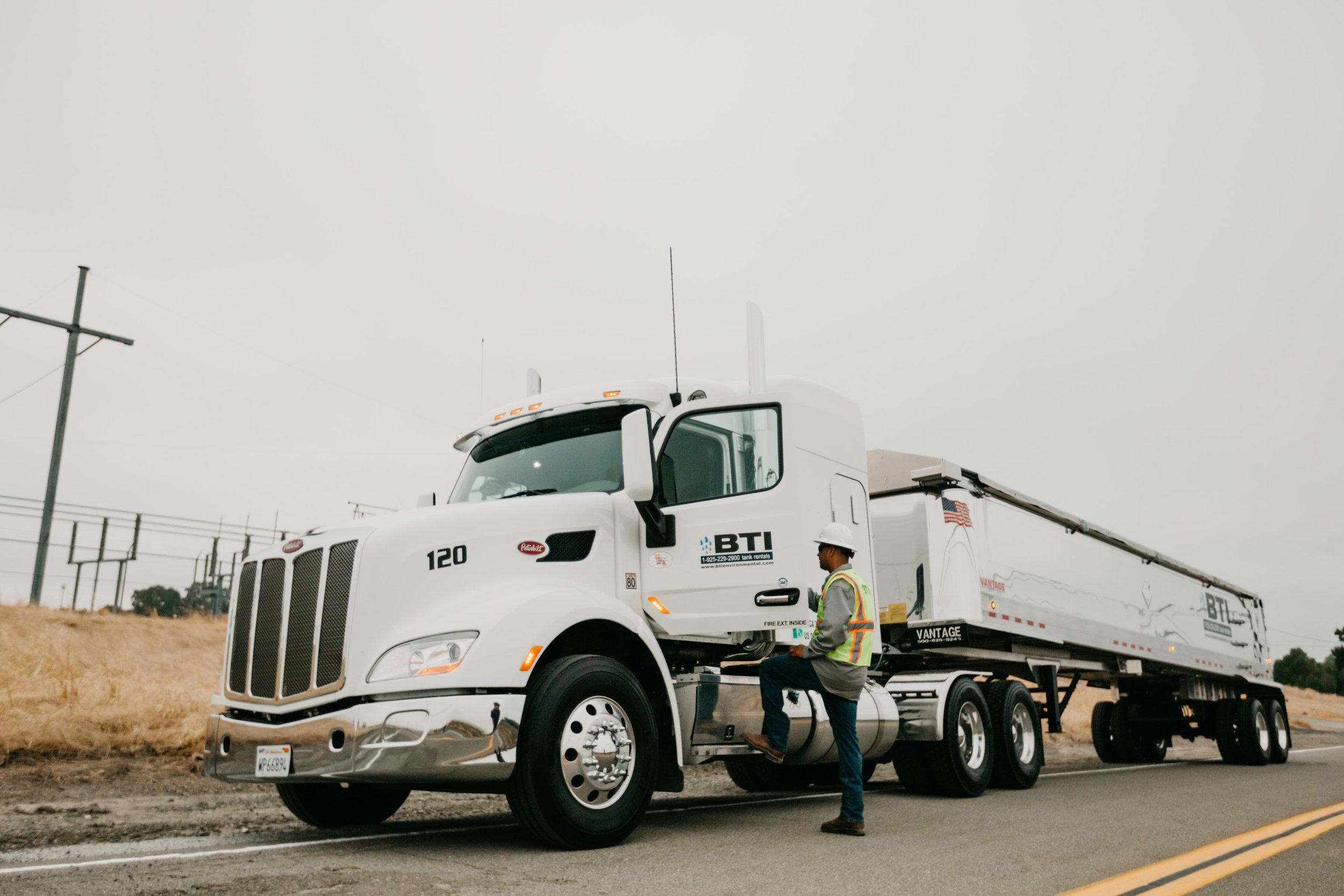 BTI Truck and Employee