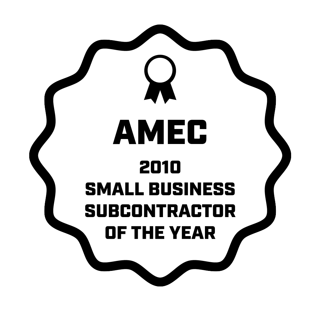 AMEC Earth and Environmental, Inc awarded BTI Small Business Subcontract Vendor of the Year 2010