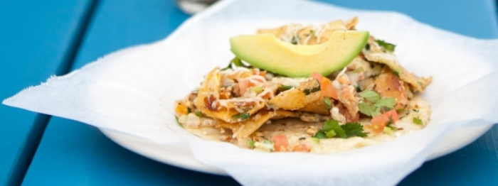 Migas Taco from Veracruz All Natural in Austin, TX (Image courtesy of their website)