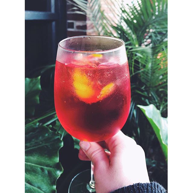 @crybabysbar there for me when @nytimes isn't 🧚🏼‍♀️ . . . . #spritz #aperolspritz #nyt #summerdrinks #summer