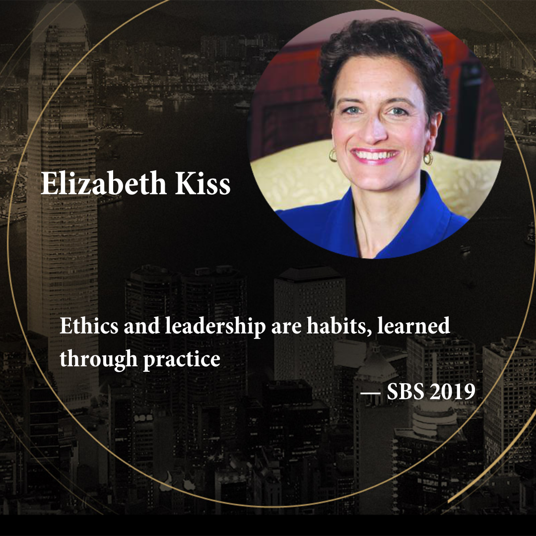Dr Elizabeth Kiss   Warden and CEO of Rhodes Trust