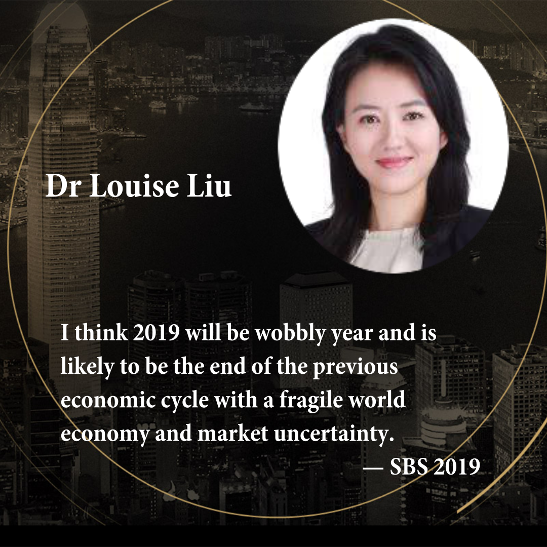 Dr Louise Liu  Managing Director of The Economists, Greater China