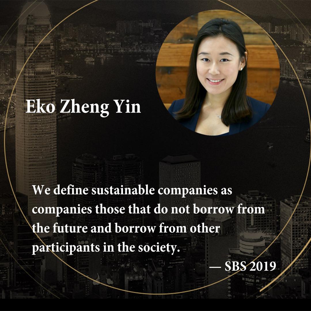 Eko Zheng Yin   Partner, Generation Investment Management