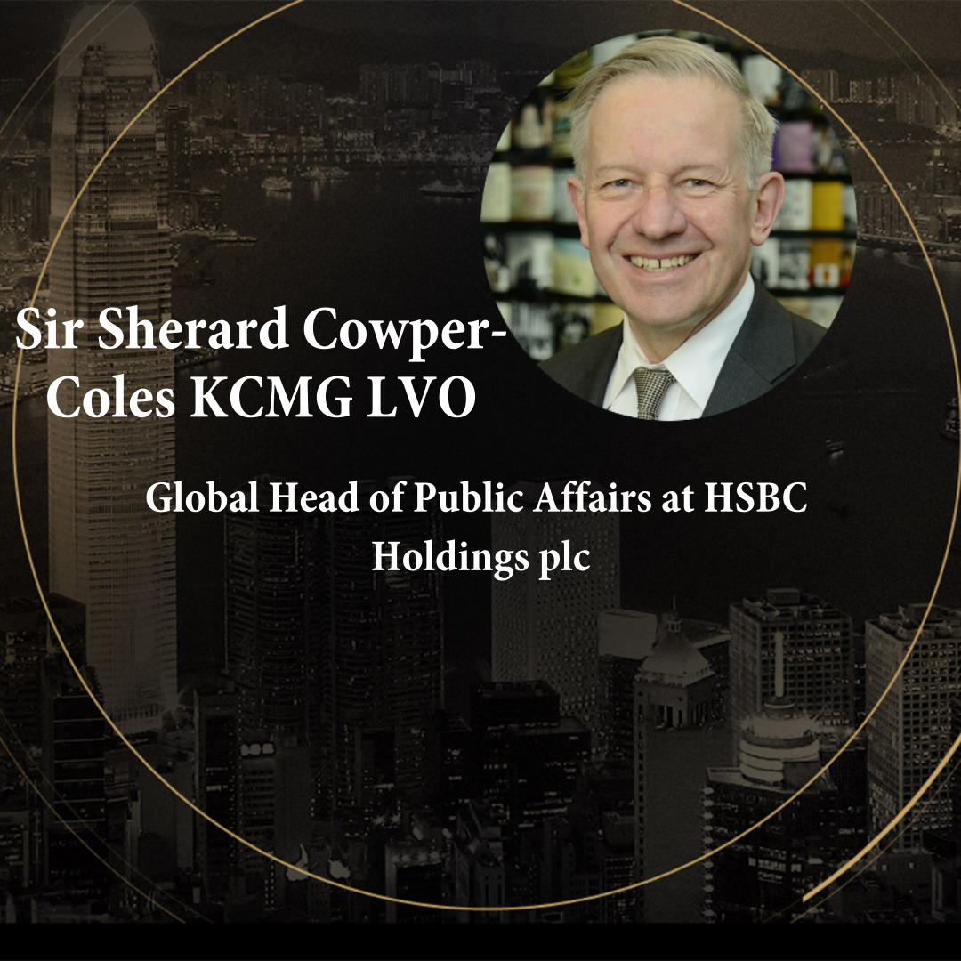 Sir Sherard Cowper-Coles KCMG LVO  makes closing remarks for 2019 Sino British Summit