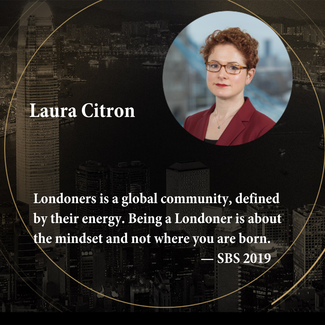Laura Citron   CEO of London & Partners