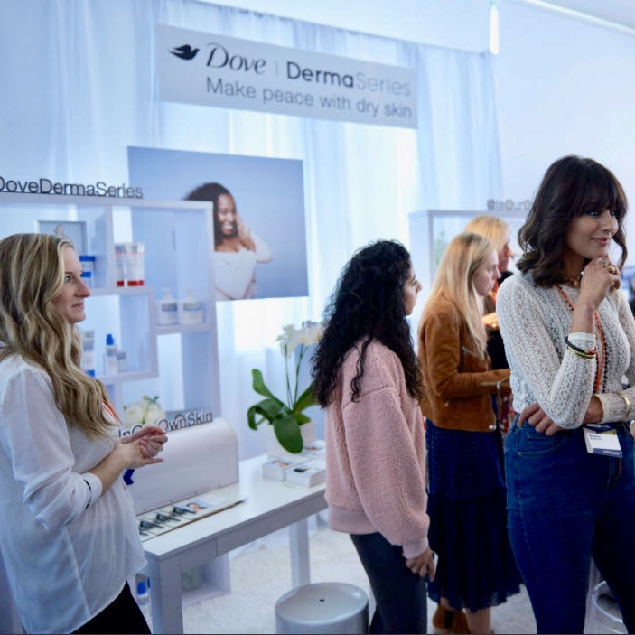Dove Derma Series Showcase