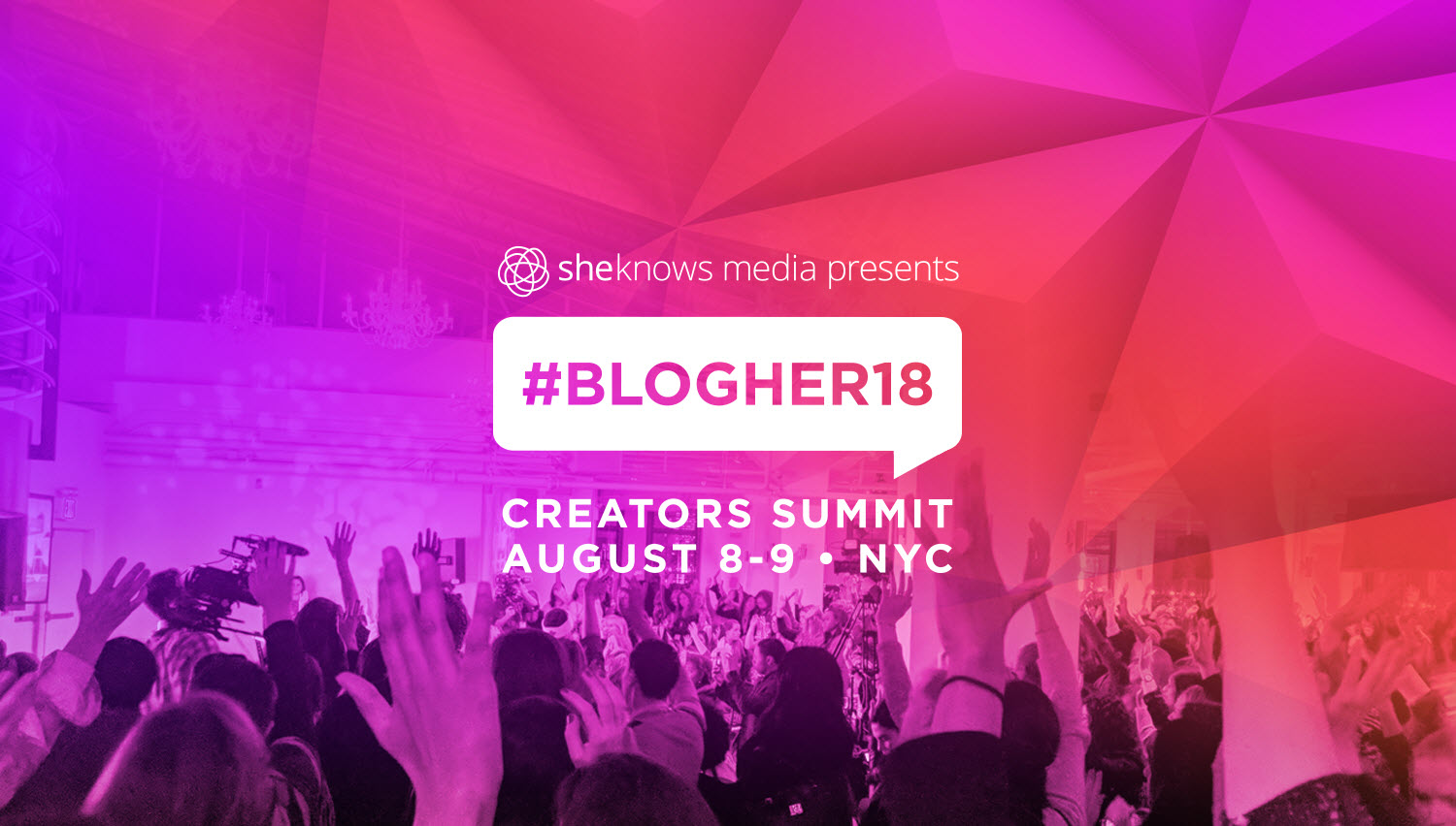 It's Official - We'll be at the Seaport in NYC on August 8th & 9th for #BlogHer18 Creators Summit!