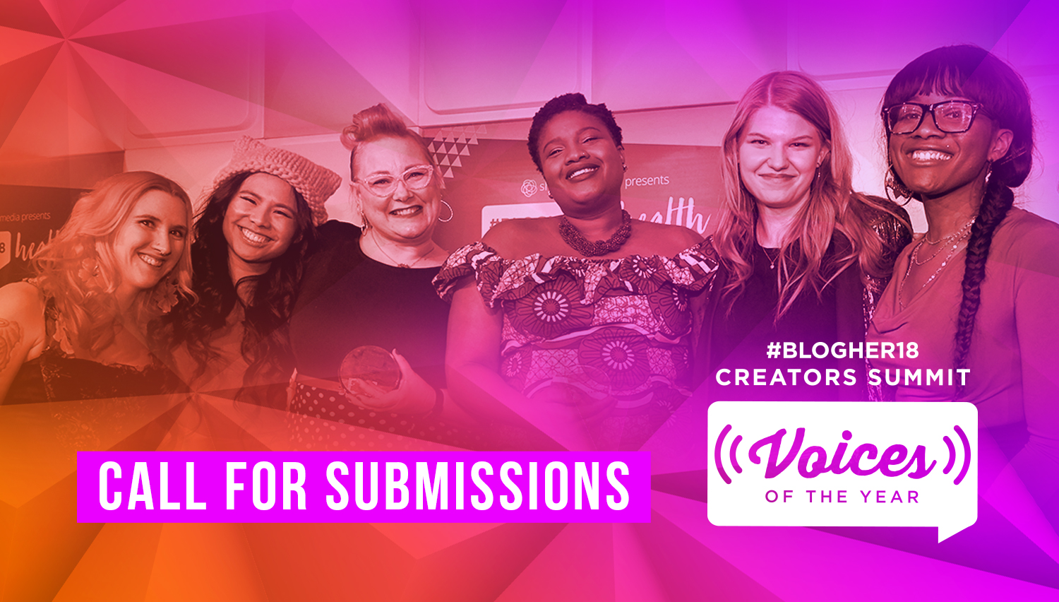 #VOTY is back - Now in its 11th year, Voices of the Year (#VOTY) comes to #BlogHer18 Creators Summit, continuing the tradition of celebrating women's voices.