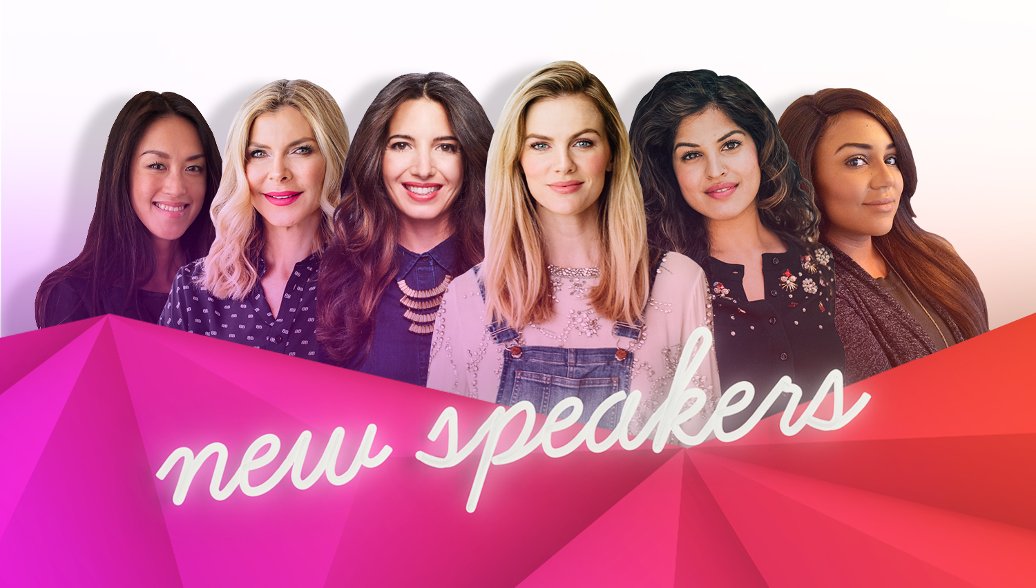 Help Us Welcome Our New Speakers - We are thrilled to kick off our first week of speaker announcements with six impressive entrepreneurs, influencers and industry thought leaders.