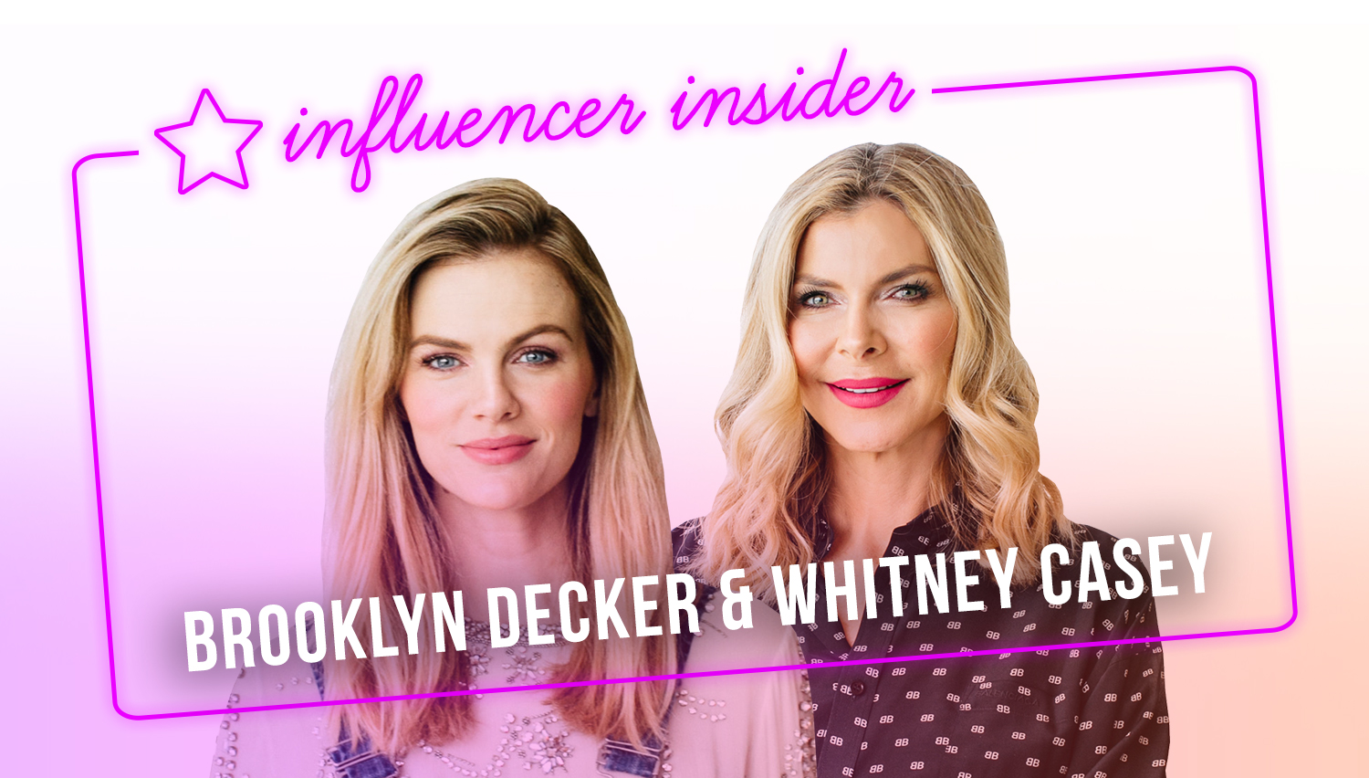 Meet the Ladies Behind FINERY - Brooklyn Decker and Whitney Casey on Entrepreneurship, Staying Productive and the Best Business Advice They Ever Received