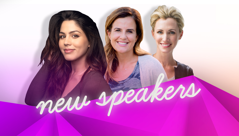 hello Summer + four New Speakers - Welcome Megan Batoon, Nicole Feliciano, Morgan Kaye and Jenny Galluzzo to #BlogHer18 Creators Summit!