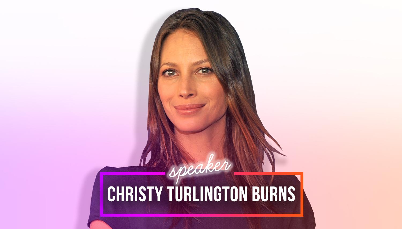 meet christy turlington burns - Christy Turlington Burns will interview Kirsten Gillibrand at BlogHer