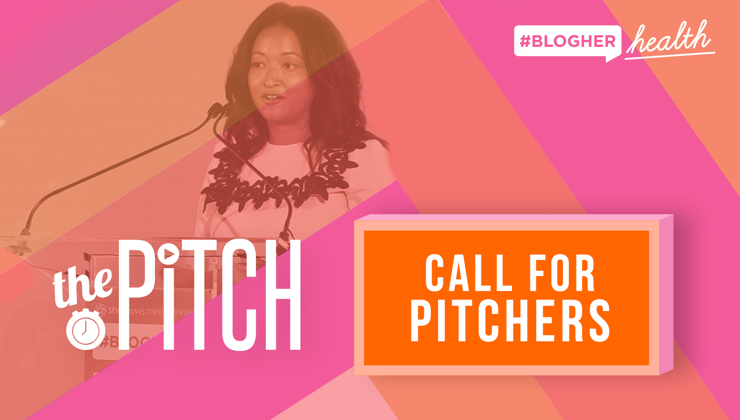 Announcing the Pitch Entrepreneur Competition - Courtney Nichols Gould of SmartyPants Vitamins, Dr. Renee Dua of Heal, Sadie Lincoln of Barre3 and Sarah Lee of Glow Recipe join the judges panel for The Pitch at BlogHer Health 2019.
