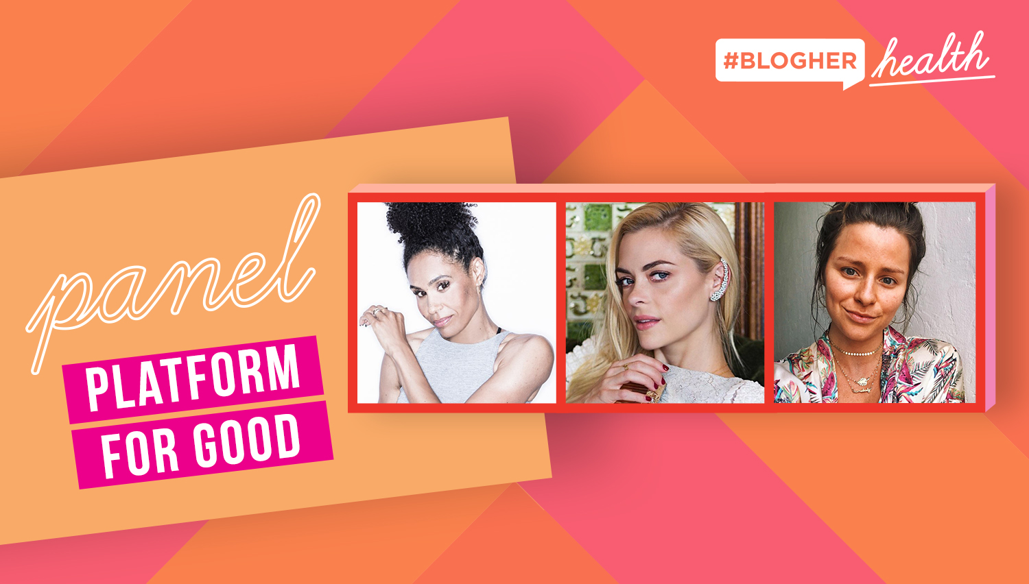Platform For Good - Jaime King is joined by Angela Davis and Lee Tilghman to share how they use their platforms to amplify women's issues in health and wellness.