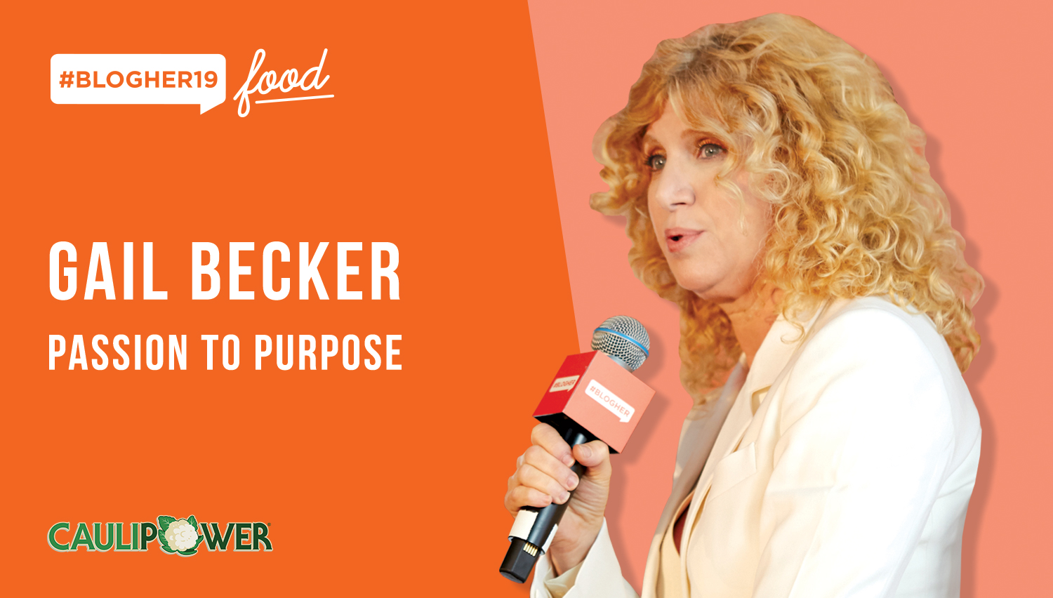 "From passion to purpose… to pizza! - We sat down with badass businesswoman, Gail Becker, at #BlogHer19 Food to learn more about her journey in creating the #1 ""Better For You"" pizza in America, CAULIPOWER."