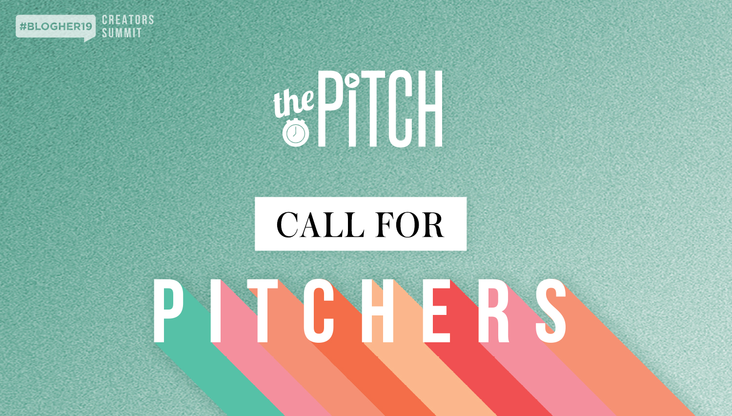 apply to be a pitcher - #BlogHer19 Creators Summit is seeking up-and-coming female entrepreneurs in the New York area to compete in an onstage pitch competition. Read on to learn how to apply!