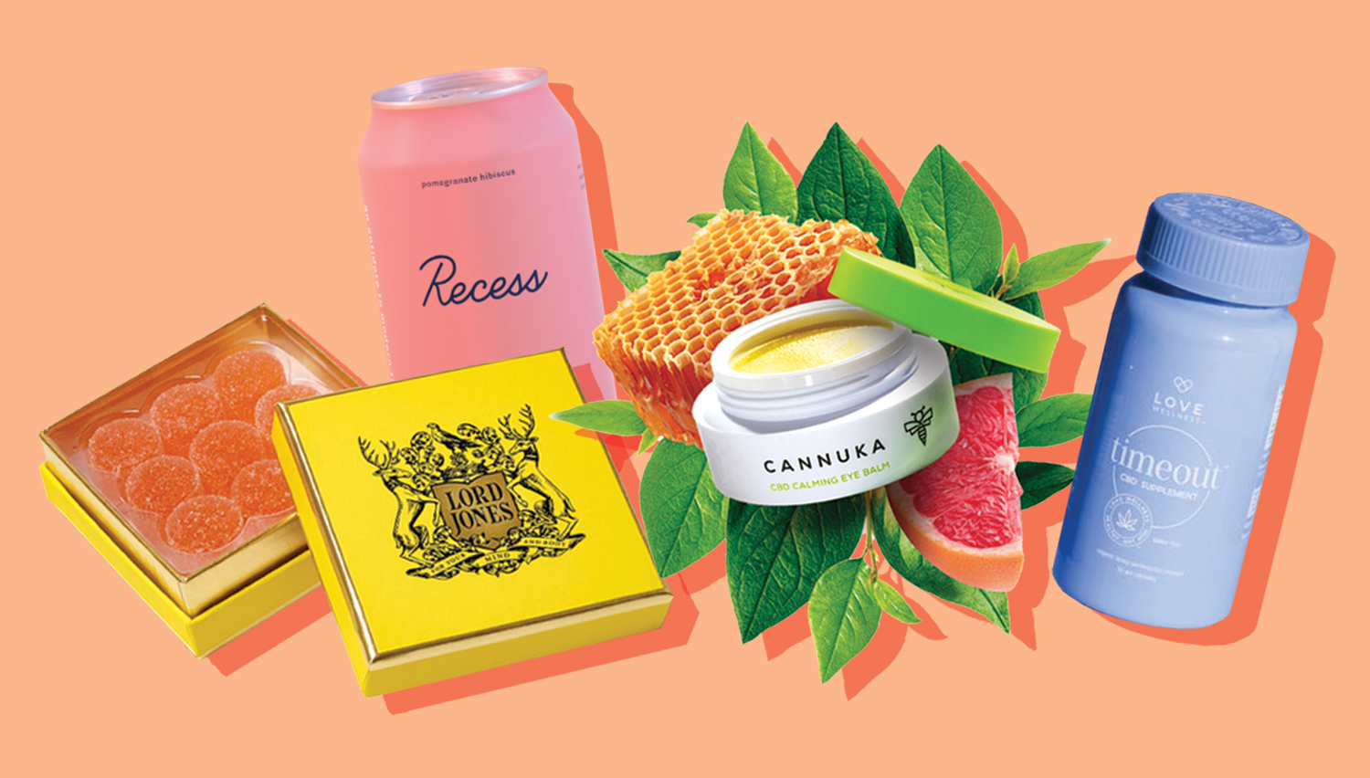 rise and shine, it's cbd time! - We've gathered a few of our favorite CBD brands recommended to help relieve your anxiety and pain, improve your wellness and beauty routine or maximize your chill session!
