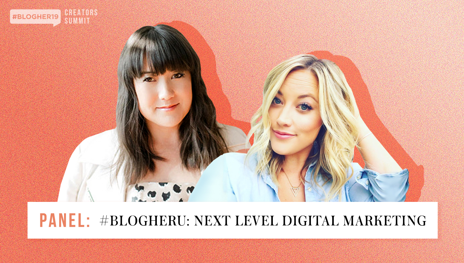 learn how to use all things digital to boost your brand - In this session at #BlogHer19 Creators Summit, Constant Contact's Jenna Shaffer and Unique Markets' Sonja Rasula will share how to use social, Google, and E-mail to get the word out about your business and increase engagement from your followers.