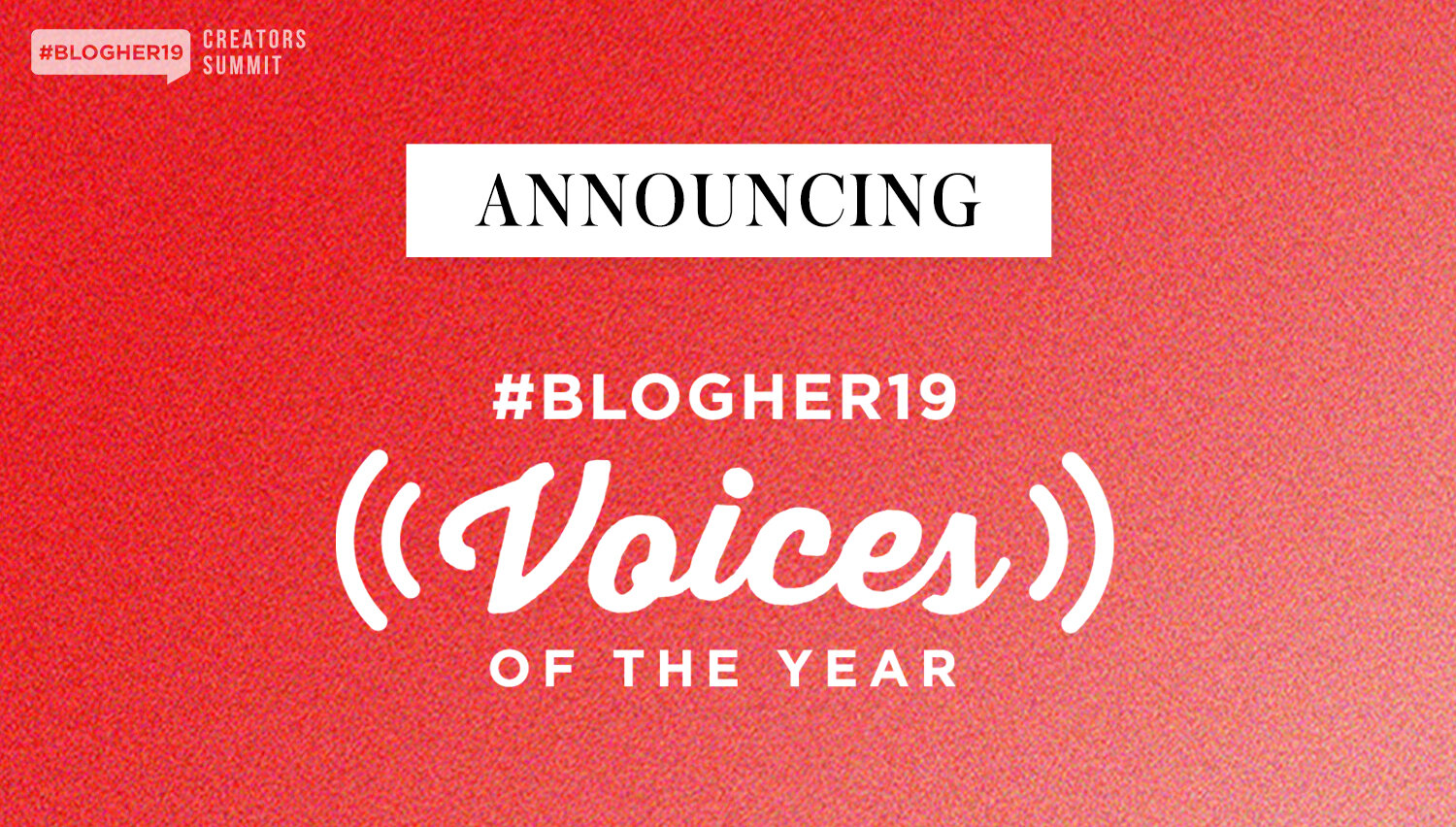 MEET OUR 2019 PRESENTERS AND WINNERS - Alysia Reiner, Diane Guerrero and our own Reshma Gopaldas will join Julianna and Connie at #BlogHer19 Creators Summit as they recognize five women for the impact their voices have made on the world.