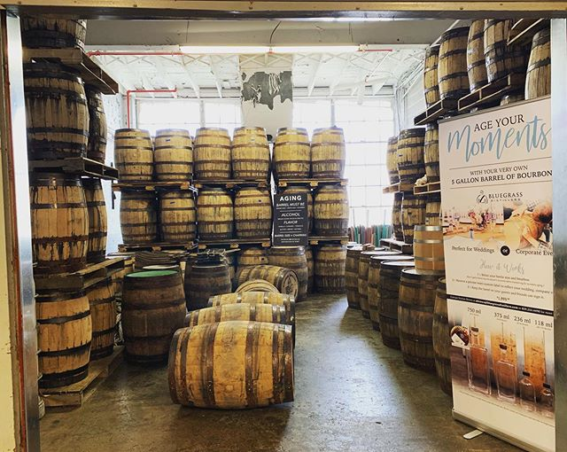 What a great day for some bourbon tasting. What's even better is tasting some straight from the barrel! Come on over and experience what a craft distillery is all about. 🤔🥃😋 #kentuckybourbontrail #bluecornbourbon #craftbourbon #craftbourbontrail #tastefromthebarrel #visitlex #kyproud #kytourism