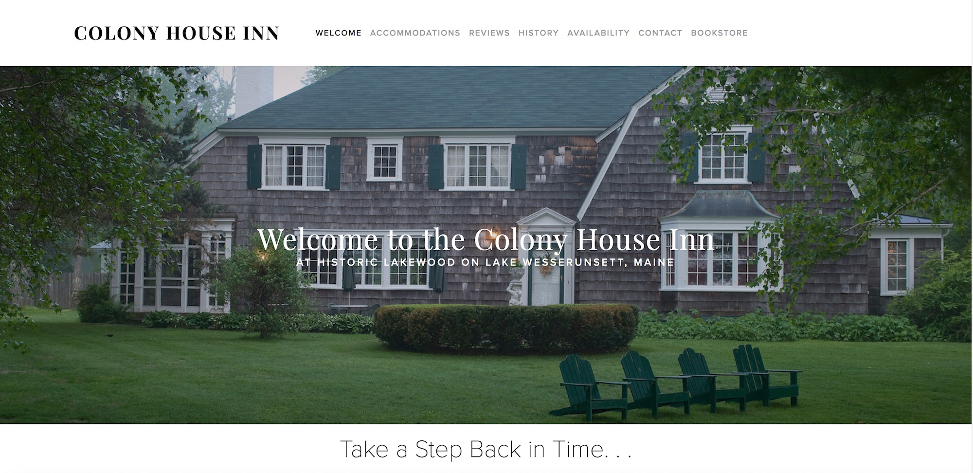 Colony House Inn Bed & Breakfast , Skowhegan, Maine  (Visit Site)