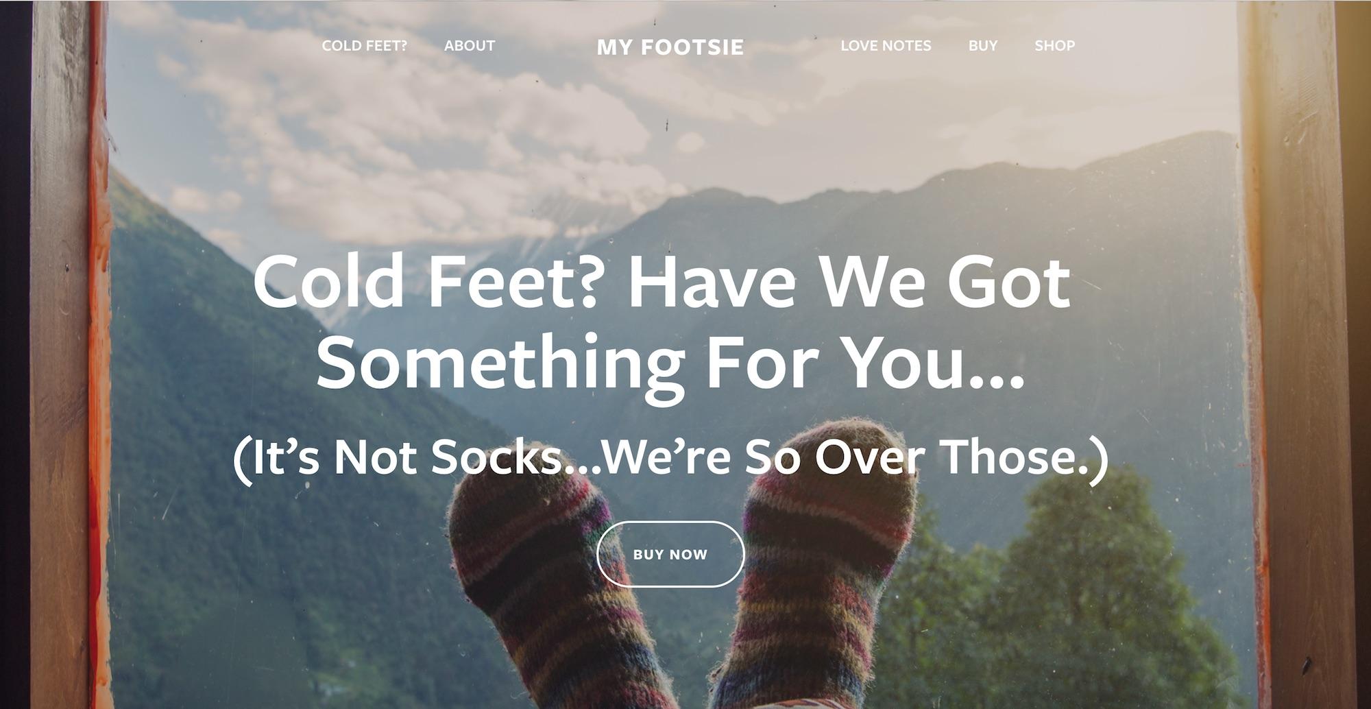 MyFootsie Foot Warmers , Manchester, Maine  (Visit Site)