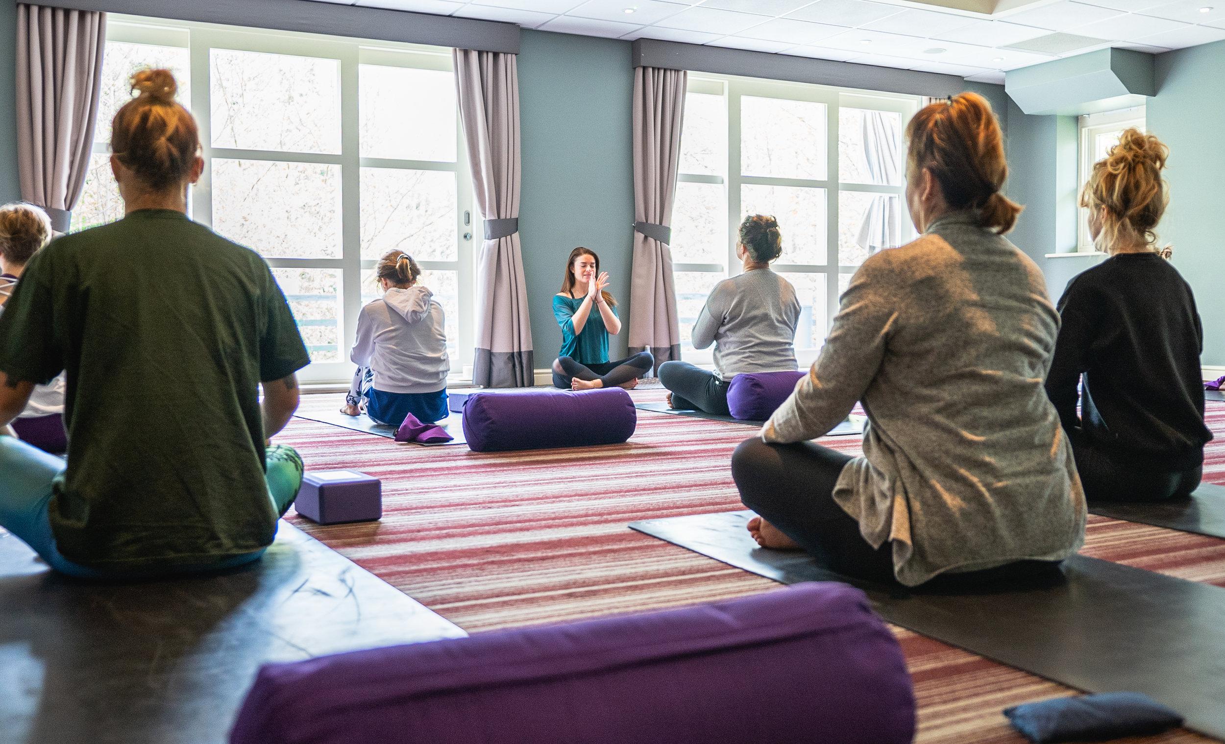 Image: Luxury Yorkshire Coast Yoga Retreat April 2019 - Captured by Marcin Kumeiga