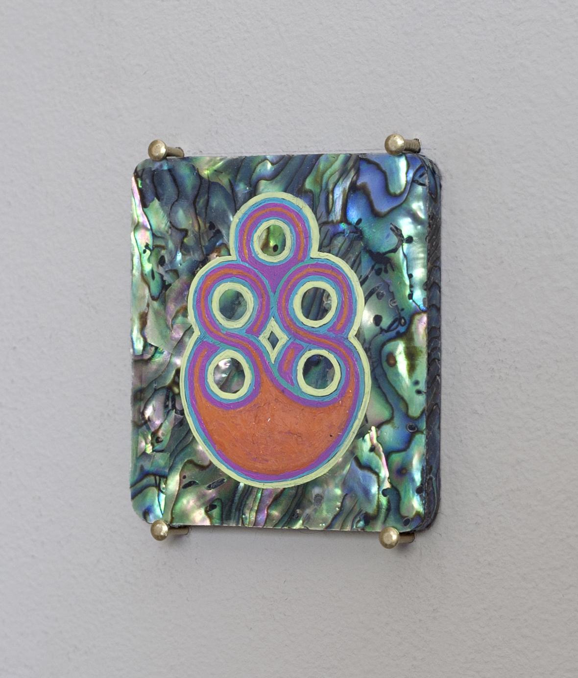 Five small Stigmata, holding pattern