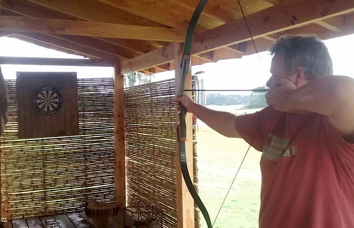 Darts and Archery at Samadhi Eco Resort, Chile