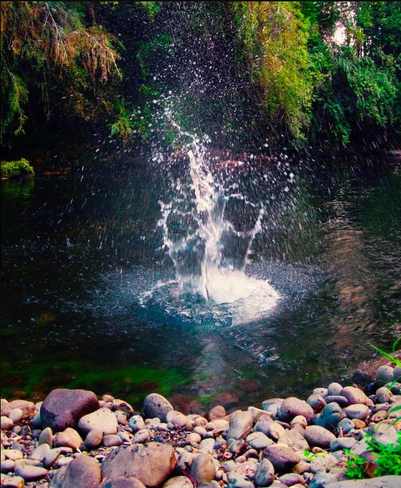 River at Samadhi Eco Resort Chile