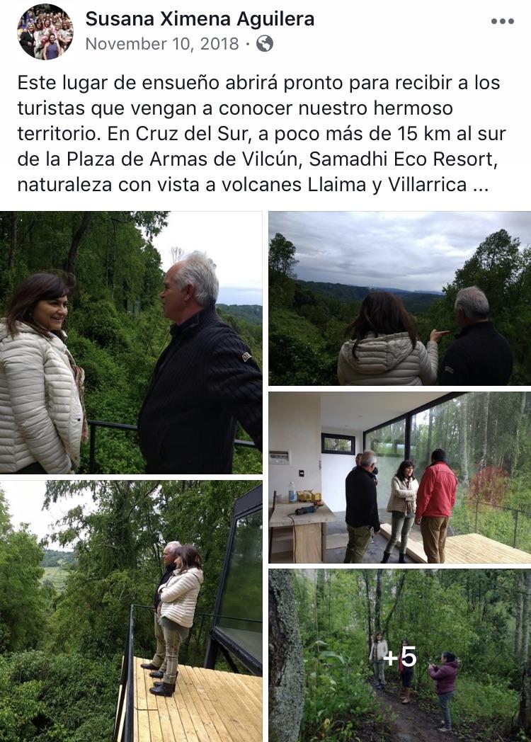 SUSANA XIMENA AGUILERA - MAYOR OF VILCUN  2018