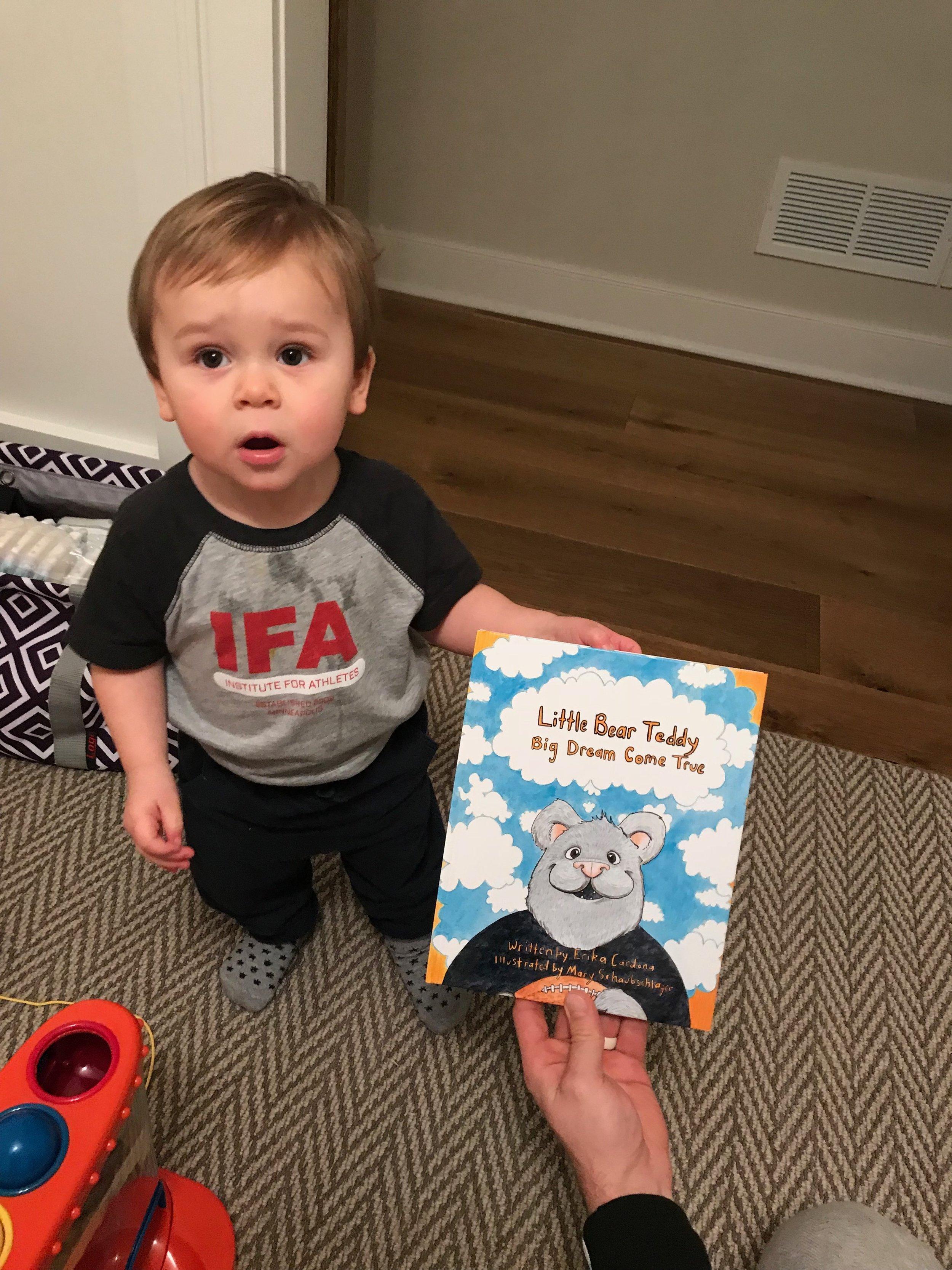 Little Teddy Bear book