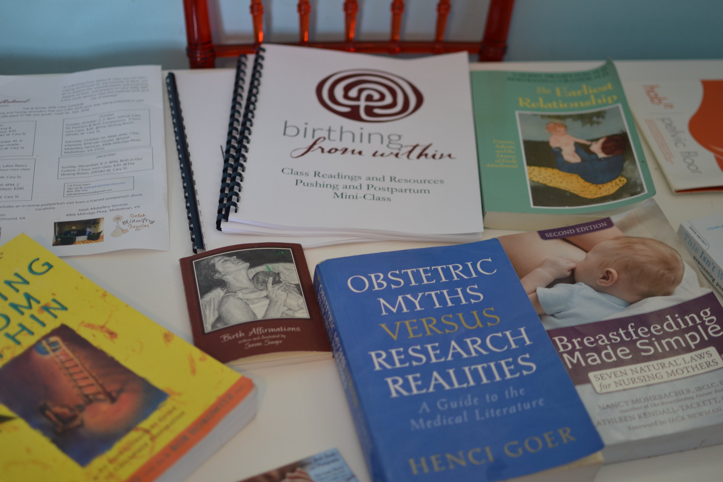 Articles, Handouts, and Access to Lending Library