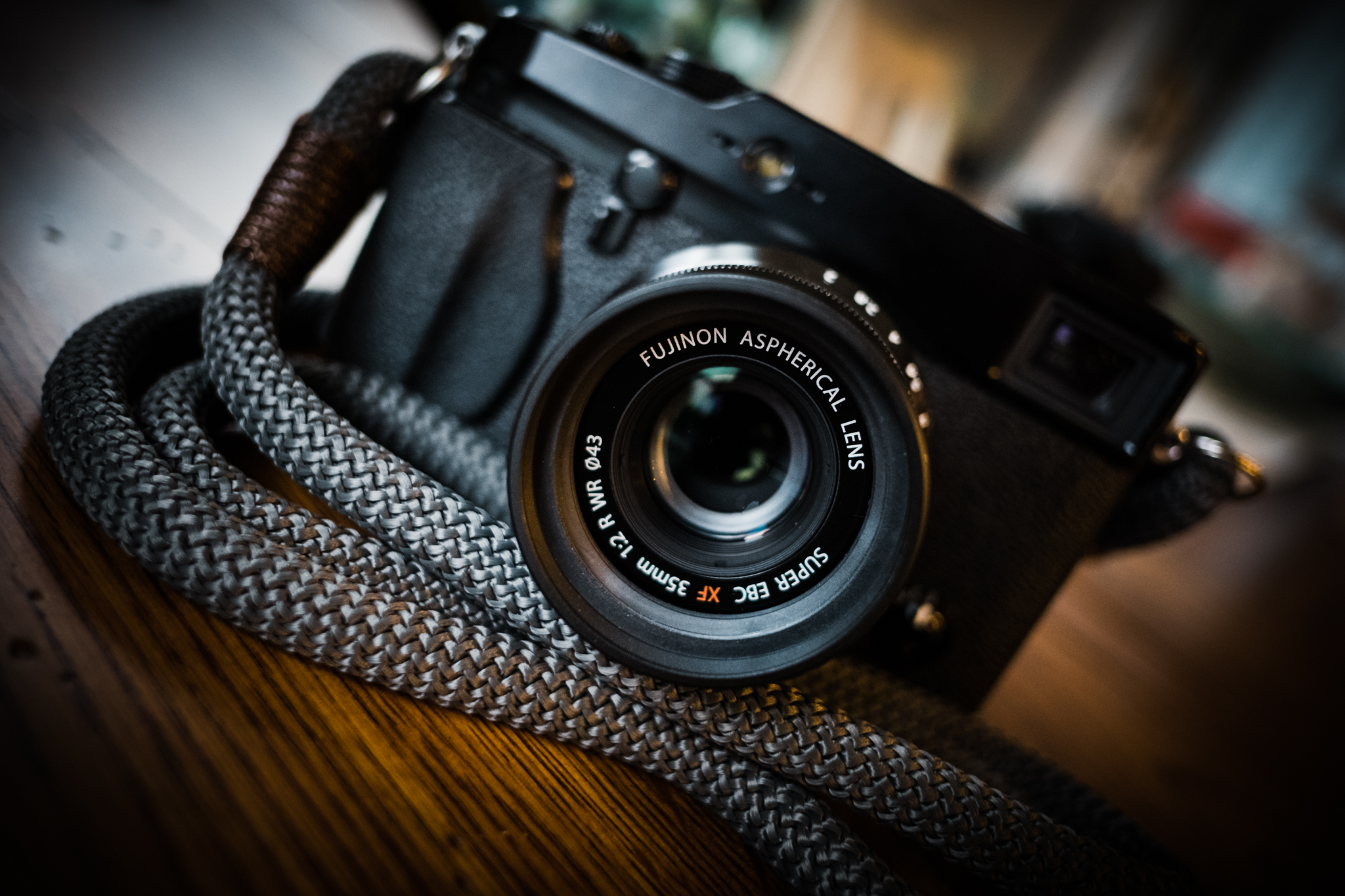 XPro1 with the Hyperion Strap and 35mm f/2