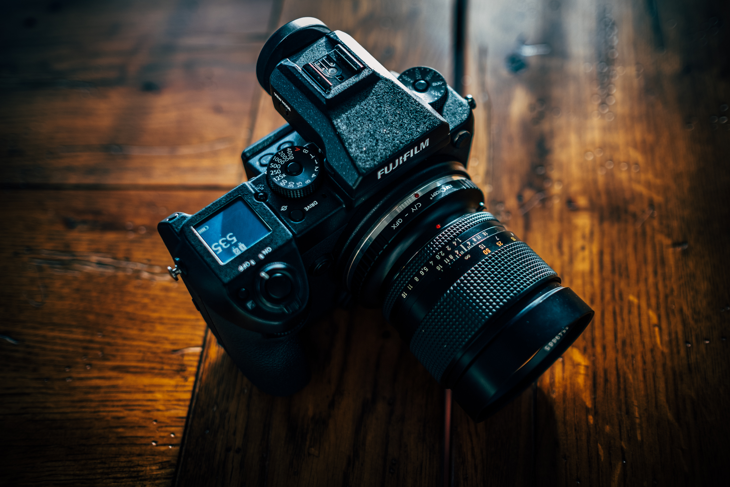 The Fuji GFX with Adapted 85mm 1.4 Zeiss Planar