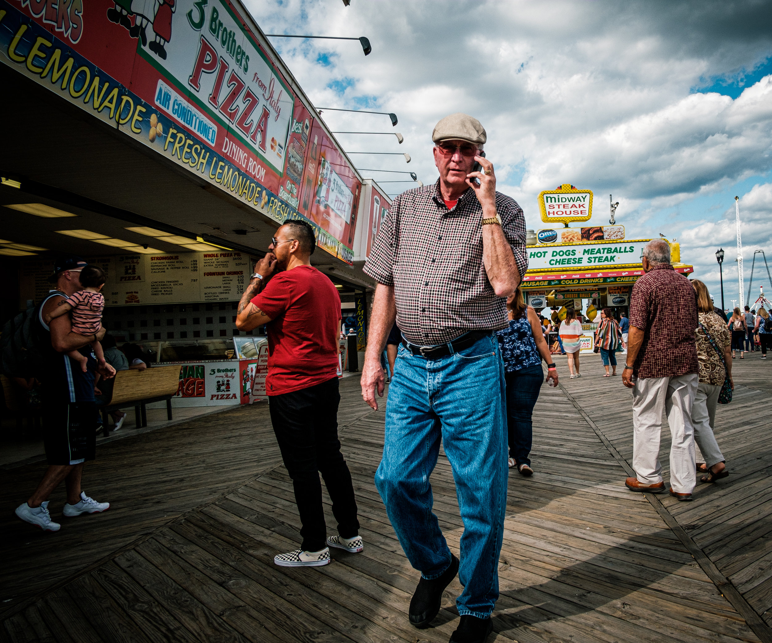 Seaside Boardwalk NJ, XT3 / 18mm f.8