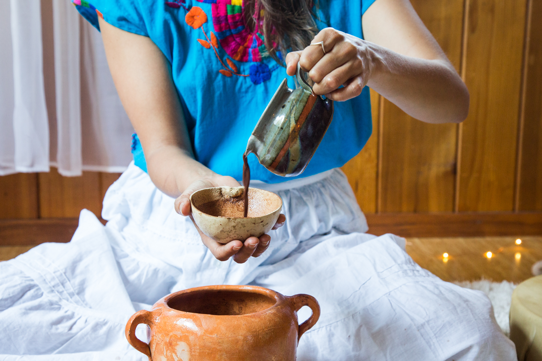 What's Included - How to prepare your own ceremonial cacao drink and personal practice at homeSisterhood - a safe and intimate container to be witnessed and supported (at scheduled meeting times and also in-between via private group chat)Weekly prompts to connect deeper to the heart8 ounces of ceremonial cacao