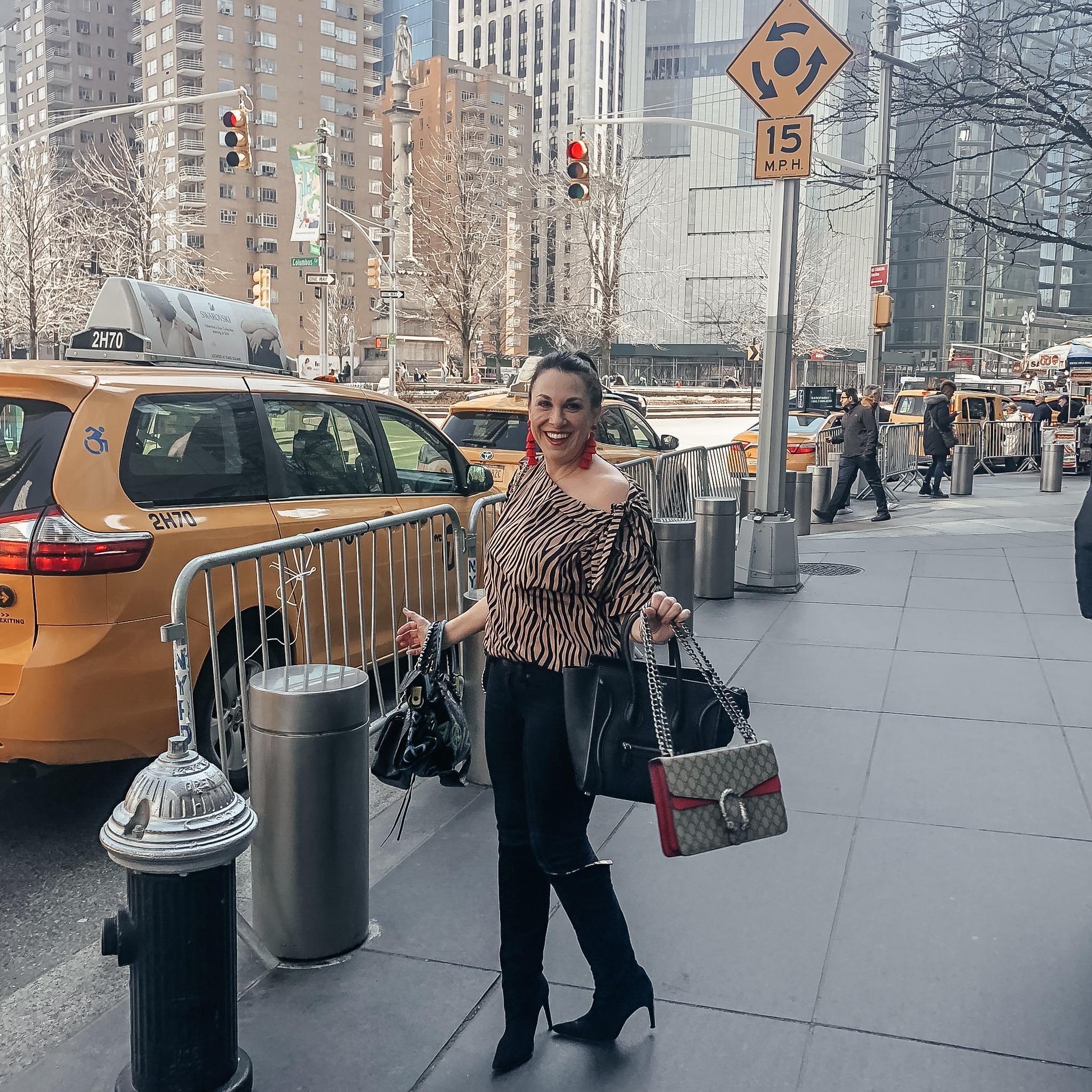I'm gonna be a bag lady! A Fendi bag lady, but a bag lady! - -carrie bradshaw